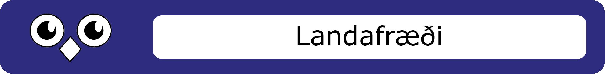Landafræði