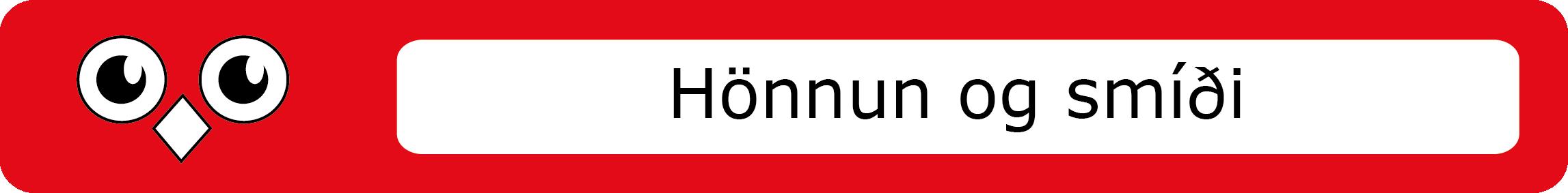 honnun_smidi