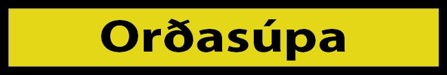 Rósi - orðasúpa