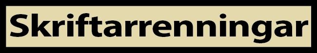 Moli - skriftarrenningar