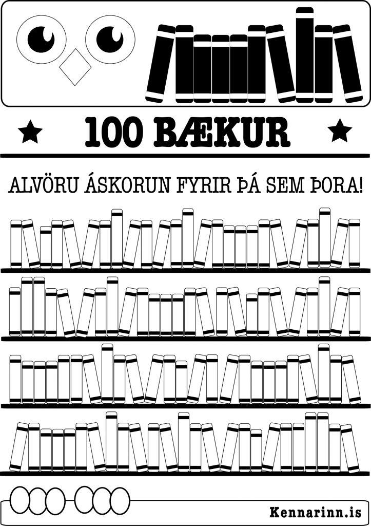 100baekur_veggspjald_svhv
