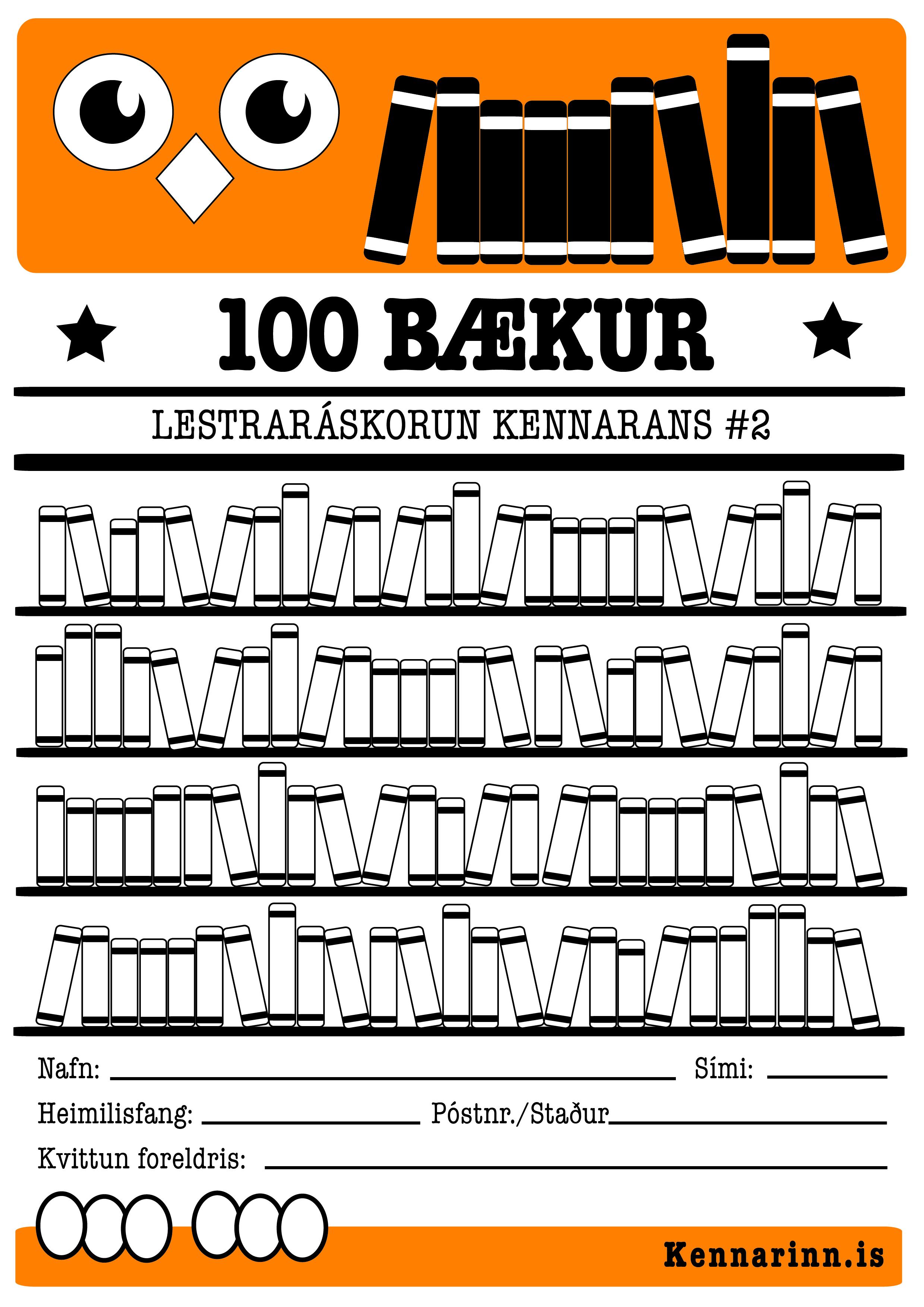 100 bækur