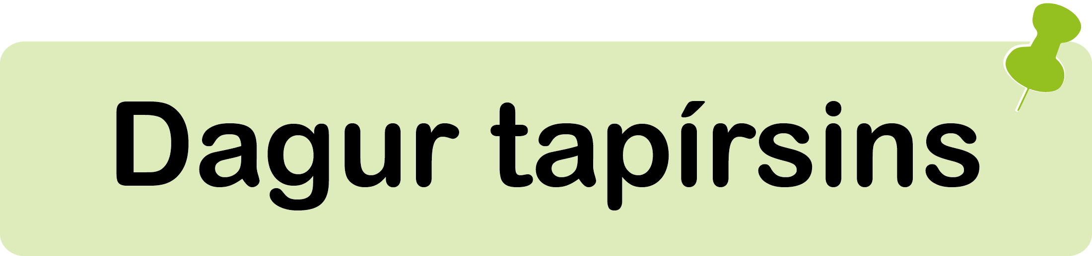 Dagur tapírsins