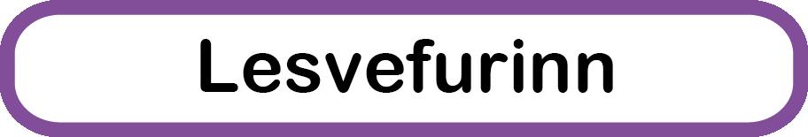 Lesvefurinn