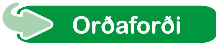 Orðaforði