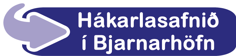 Hákarlasýning í Bjarnarhöfn