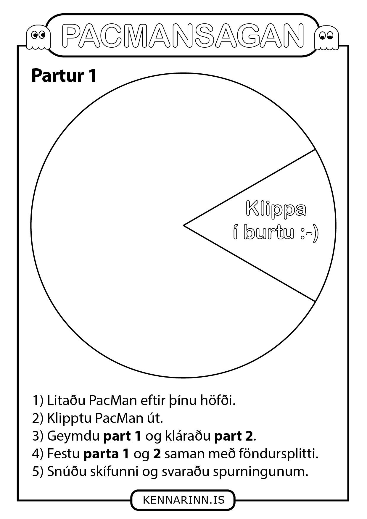PacMan skriftarskífa