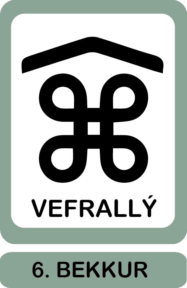 6. bekkur, vefrallý um Minjasafnið