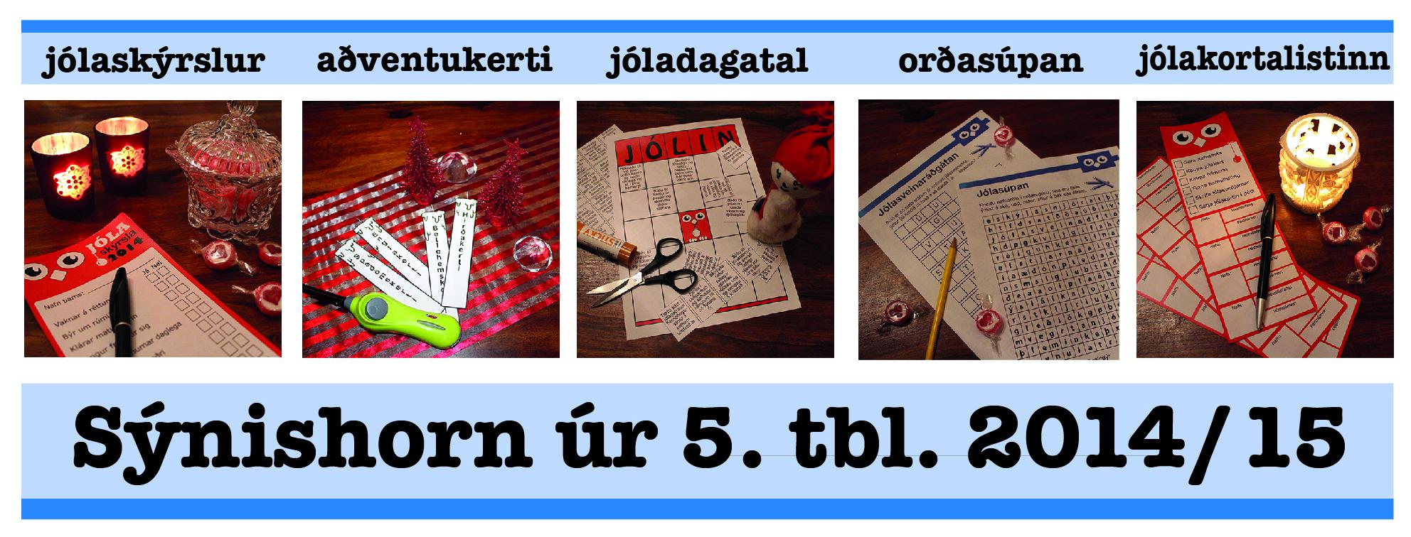 5. tölublað 2014-15
