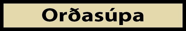 Moli - orðasúpa