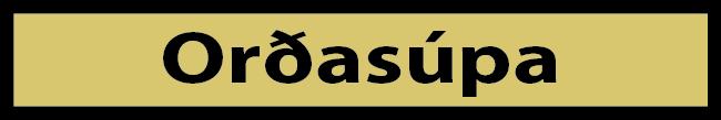 Lesum og málum - orðasúpa