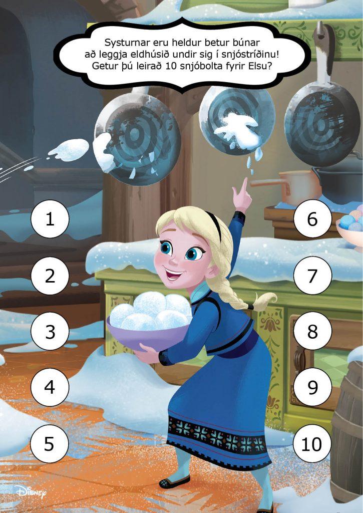 Frozen - Ævintýri í æsku