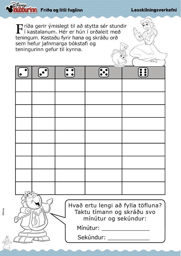 Fríða og litli fuglinn