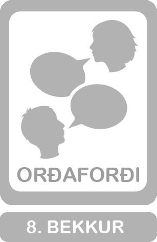 8. bekkur, orðaforðabingó