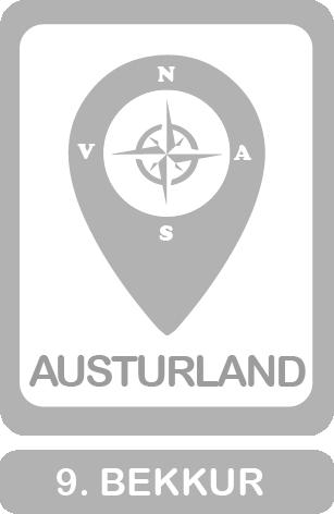 9. bekkur, ratleikurinn Austurland
